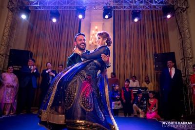 Sahil and Gurpreet at their dance performance.