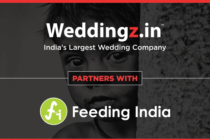 Weddingz.in Joins Hands with Feeding India to Reduce Food Wastage