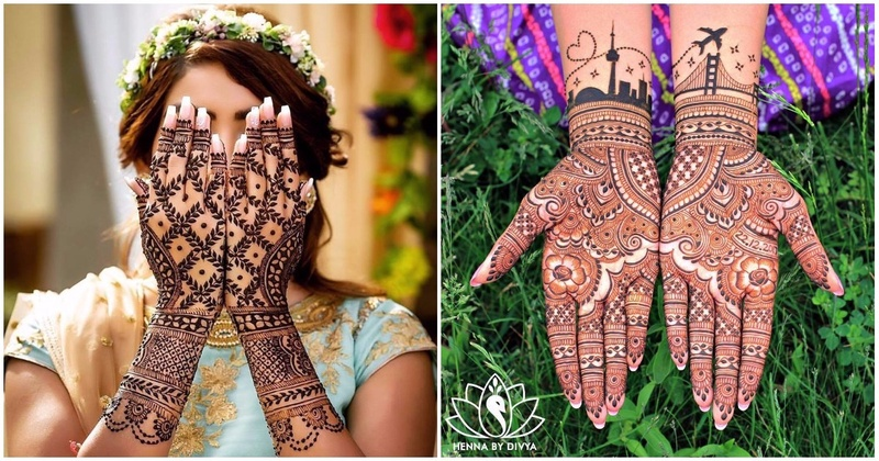 10 Instagram Mehndi Artists All Brides-To-Be Need To Follow! #WeddingInspiration