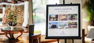 Story of the destination wedding venue, The Leela, Kovalam