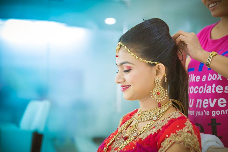 hair styles for bridals simple diy hairstyles for your pre wedding functions that 6489