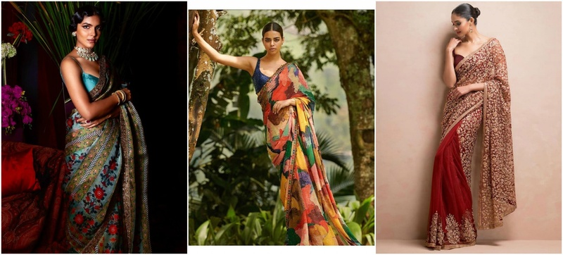 20 Reception Sarees for Bride Ideas to Bookmark in 2020