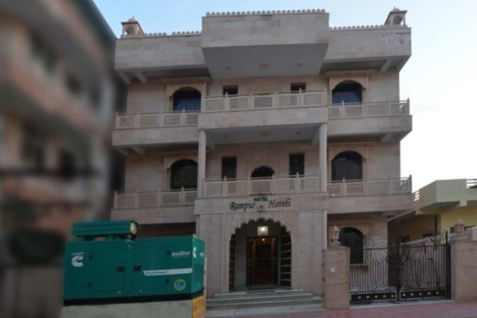 Hotel Rampur Haveli Kukas Jaipur - Banquet Hall