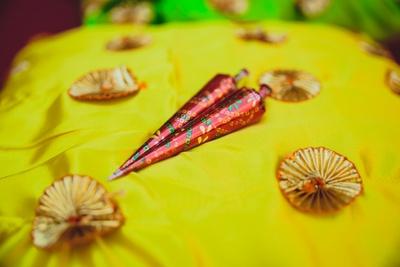 Mehendi cone for Mehendi Ceremony.