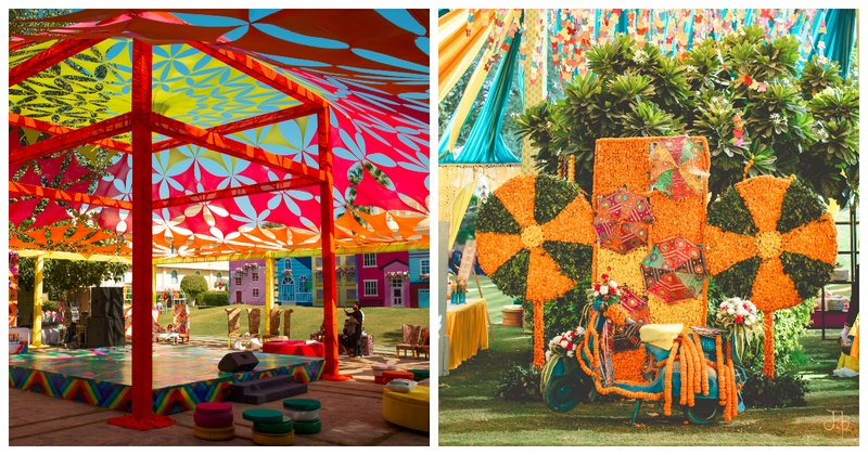 10 Times Colourful Wedding Decor Wowed us!