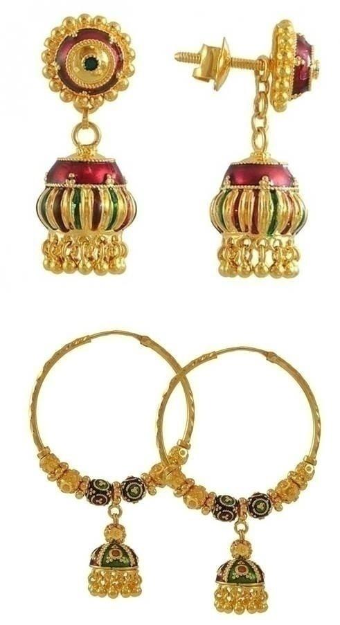 Meenakari Jewellery Lookbook For All The Brides That Love