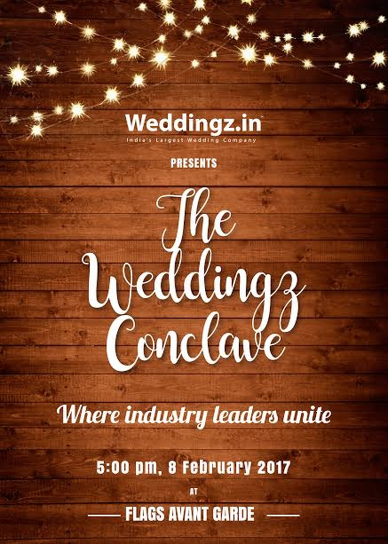Weddingz.in and Flags Avant Garde Collaborate to Organise 'The Weddingz Conclave'