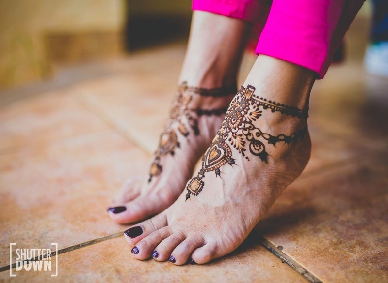 Mehndi Ankle Images : Latest mehndi designs for the 2018 bride! blog