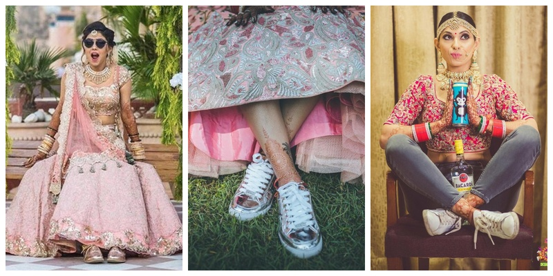 Brides who aced their Wedding in Sneakers