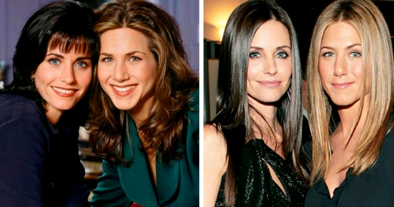 FRIENDS fans, listen to this - Jennifer Anniston is the official Maid Of Honour for Courteney Cox!!