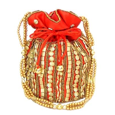 Shilpkart Bead Potli Bag
