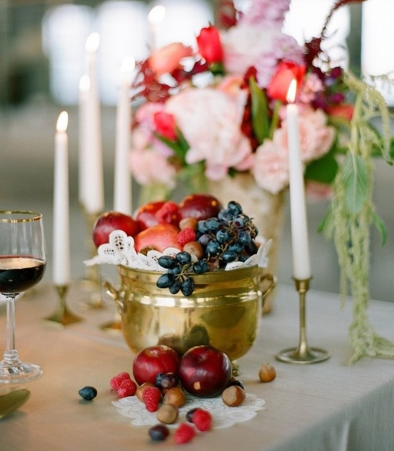 Edible Wedding Décor Ideas: Creative Ways to Use Fruit at Your Wedding