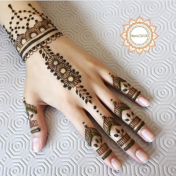 25 Magnificent Henna Cuff Designs For Inspiration: 50+ Simple Mehndi Design Ideas To Save For Weddings And