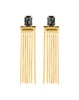 Bblingg Crystal Tassel Cocktail Earrings image