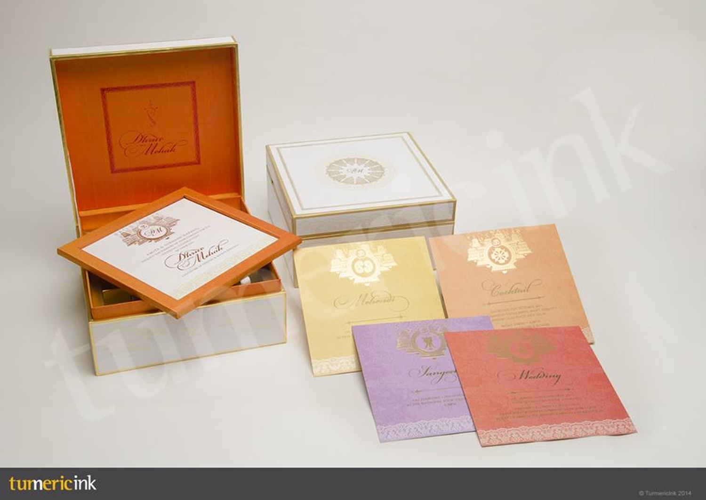 turmeric ink invitations stationary wedding invitation card in