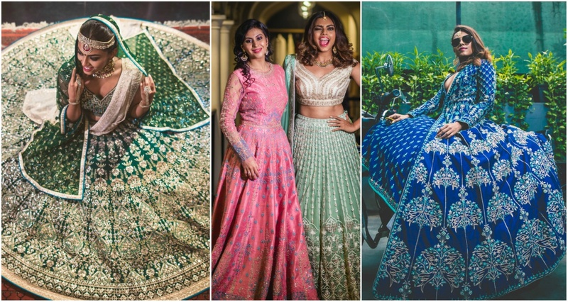 Weddingz.in Exclusive Picks From Anita Dongre For The Bride and her sister!