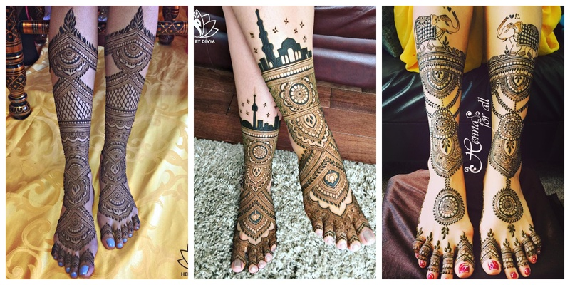 50+ leg mehndi design images to check out before your wedding!