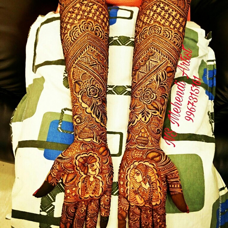 Bridal Mehndi Artist In Surat : Ns mehndi artist bridal in mumbai weddingz