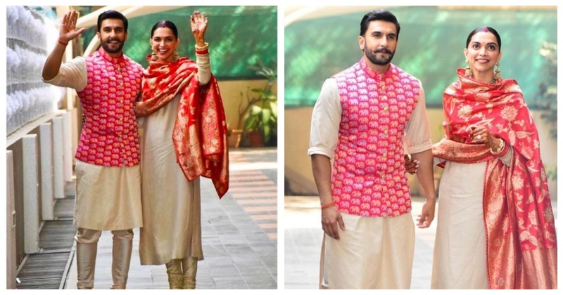 This Stunning DeepVeer Outfit is Apt for Ganesh Chaturthi