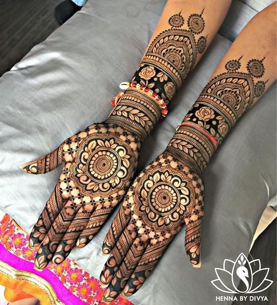 Bridal Mehndi Designs Which Are Absolutely Fresh And Unique
