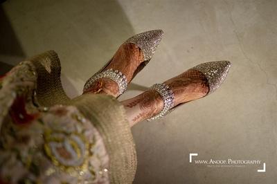 Pretty feet mehendi