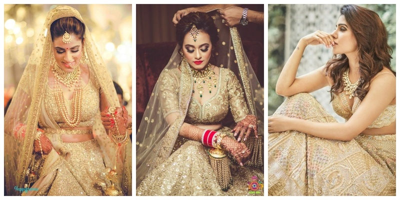 10 Amazing Jewellery Options to Pair with a Golden Lehenga