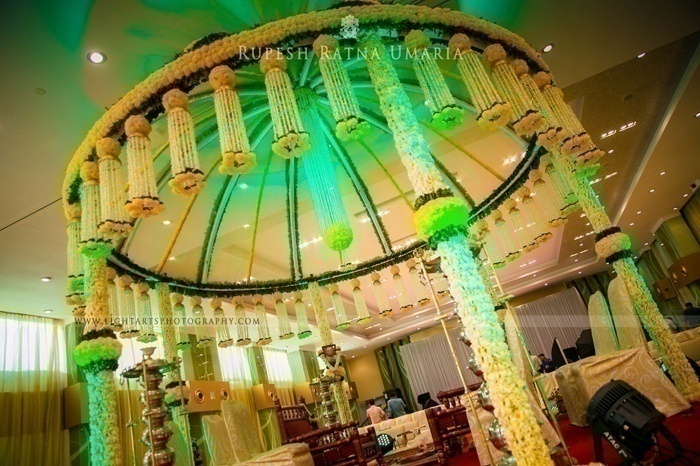 Marigold flower decoration ideas blog for Artificial flower decoration mandap