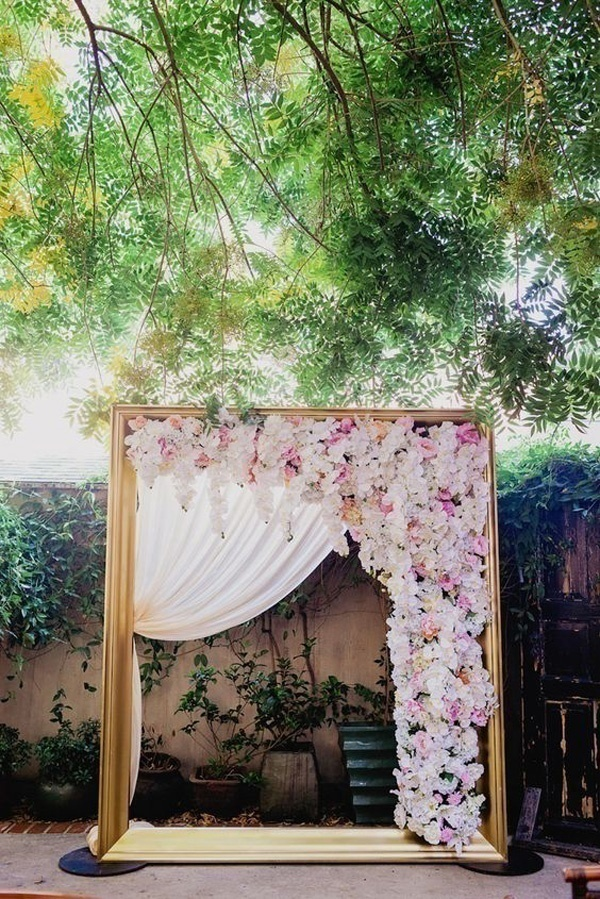 Insta Worthy Photo Booth Backdrop For Your Wedding Blog