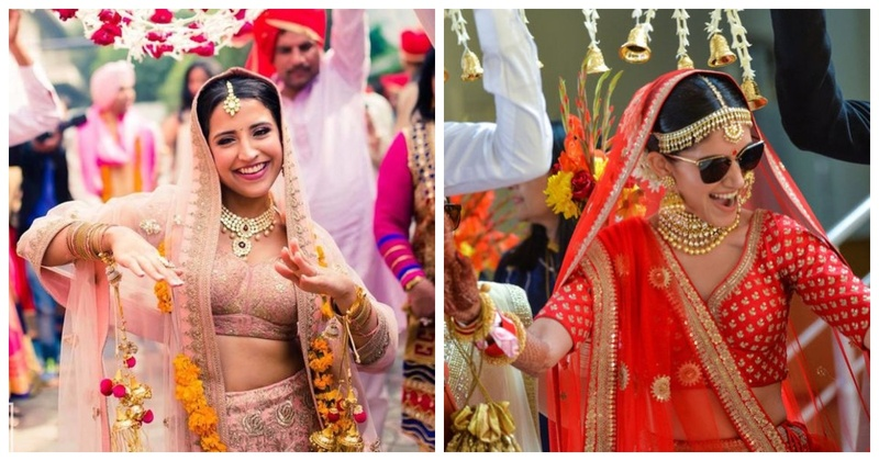 10 bindaas brides who entered their wedding while shaking a leg!