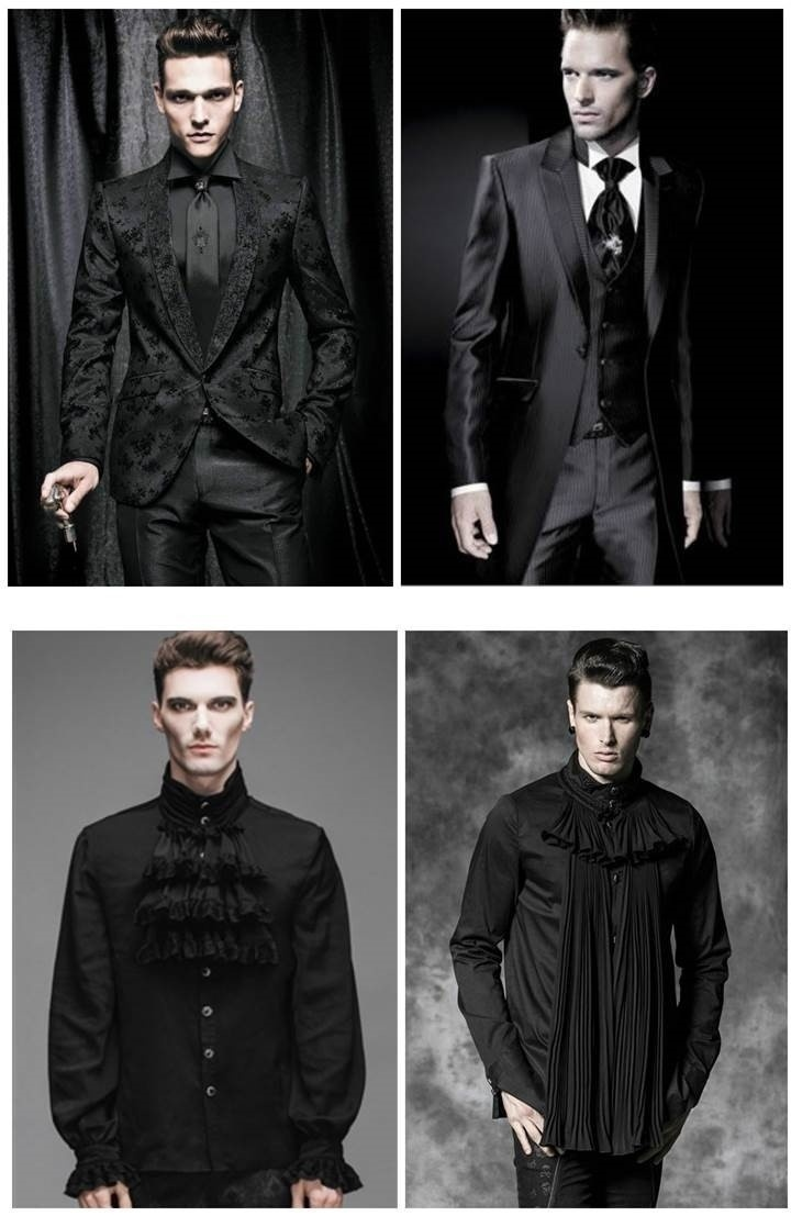 GOTHIC WEDDING ATTIRE