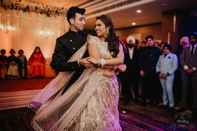 Pragya and Harsh perform a special dance at their Engagement