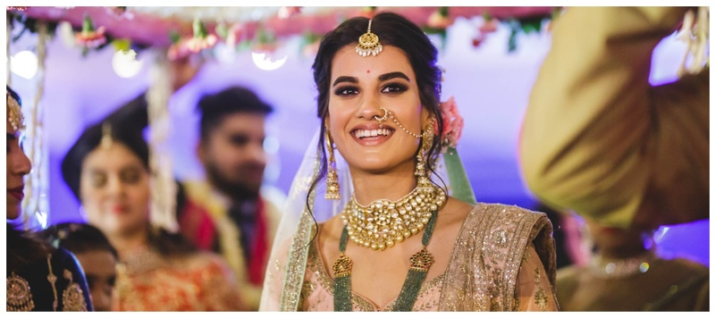 Arjun & Heena Delhi : Model Heena Bhalla's contemporary bridal look is going to be a major inspiration this season!