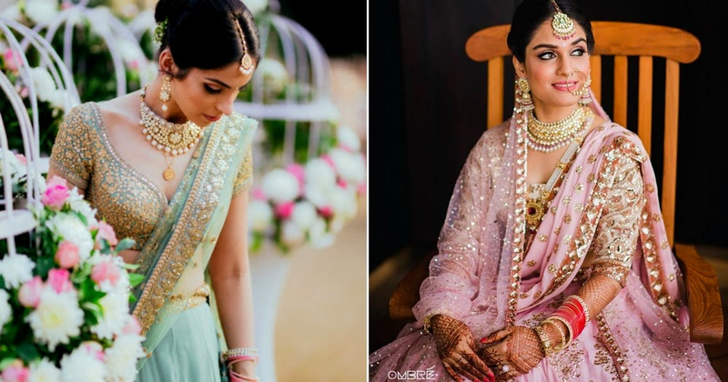 Single dupatta v/s double dupatta for your wedding look - Real Brides help you decide!