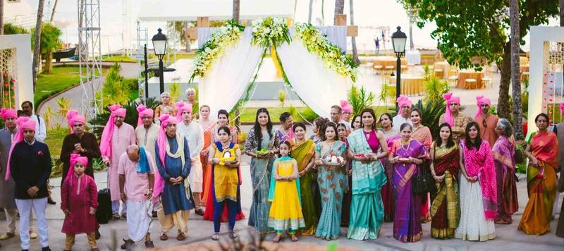 Namit & Preeti Goa : Intimate hindu wedding held at goa with quirky decor