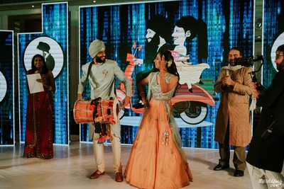 Sangeet Bride and Groom Performance