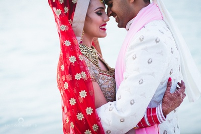 Post wedding couple shoot by ace photographer Into Candid Photography.