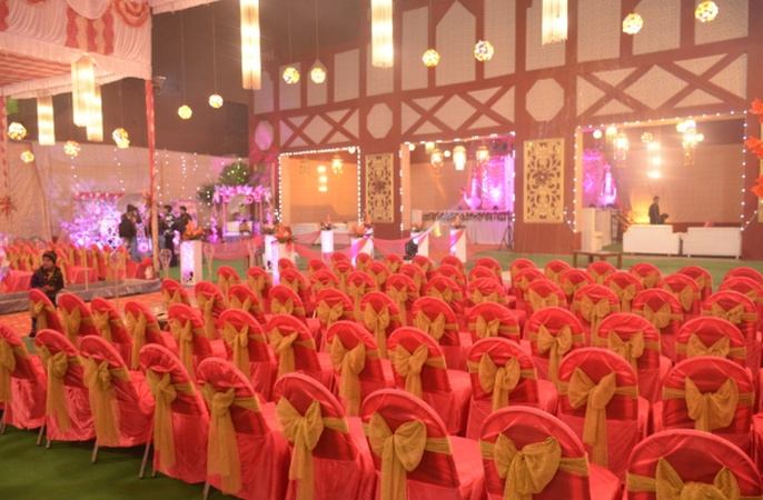 Raj Garden Marriage Lawns Rajajipuram Lucknow - Banquet Hall