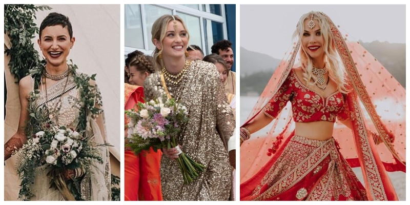 Firang brides in Sabyasachi who pulled off the Indian look like a true desi girl!