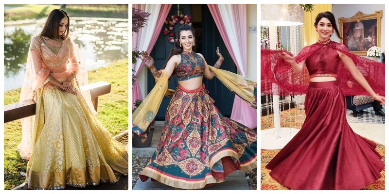 10 lehengas to wear for your Haldi ceremony that are not yellow!
