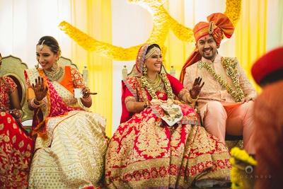 Unique artificial wedding garlands
