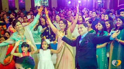 Sangeet celebrations at the glorious ITC grand central, Mumbai