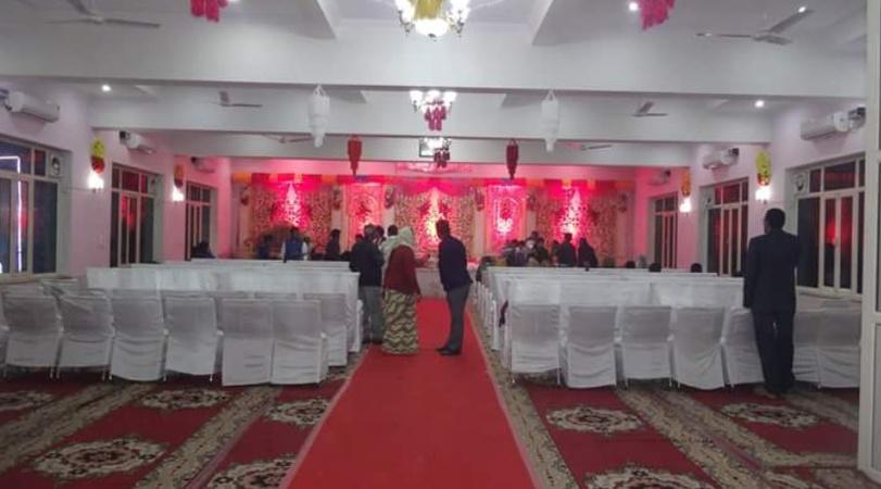 Radhika Palace Marriage Home Shahganj Agra - Banquet Hall
