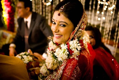 Sushmita couldn't stop grinning throughout the ceremonies