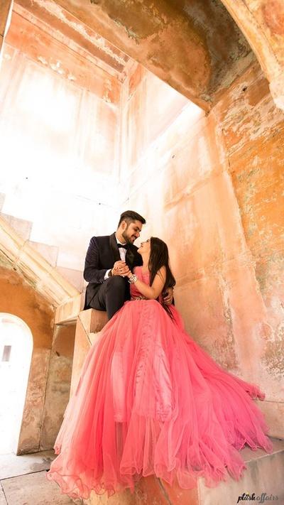 Fairytale like pre wedding shoot by Plush Affairs.