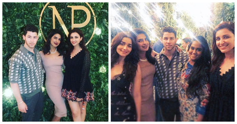 Priyanka Chopra and Nick Jonas' engagement party in Mumbai was attended by all close friends & family!