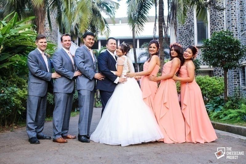 The Church Wedding held at OLPS Church, Chembur