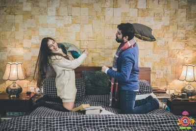 the most romantic pre-wedding shoot of the couple