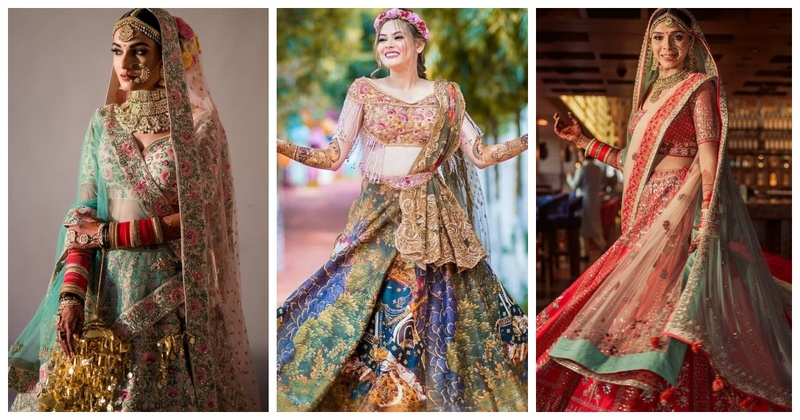 10 trending Wedding Lehenga Colours that are a must-see for the 2019 bride!