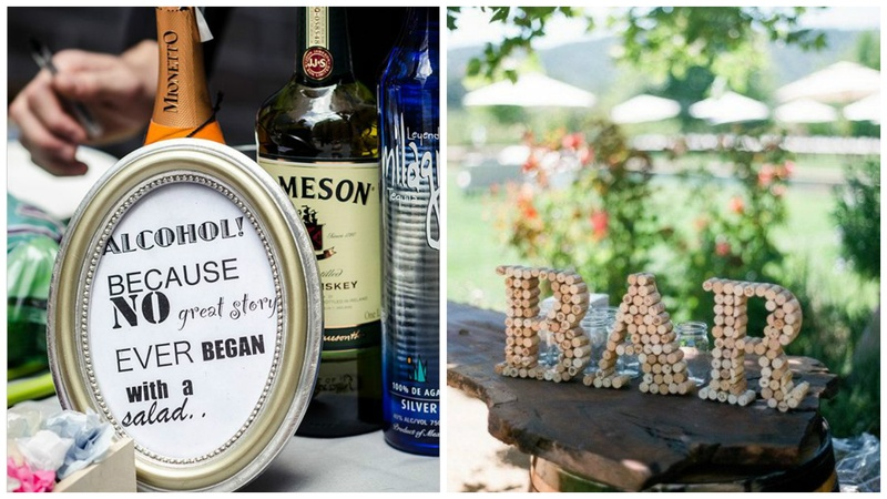 Trending in Wedding Decorations: Unique Wedding Bar Ideas