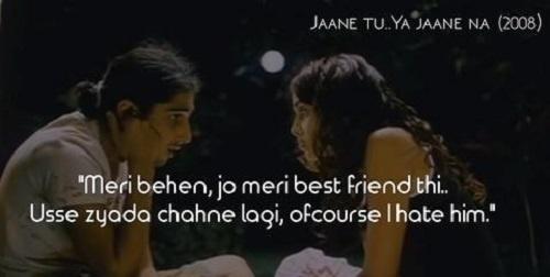 JAANE TU YA JAANE NA – THE OFF-BEAT BROTHER SISTER LOVE